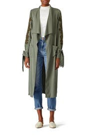 Alexis Trench Coat by B Collection by Bobeau