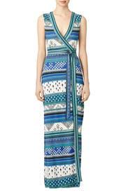 New Yahzi Maxi Wrap Dress by Diane von Furstenberg