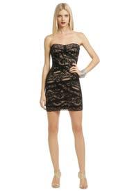 Noir Lace Cocktail Dress by Nicole Miller