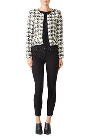 Houndstooth Hope Jacket by Iro