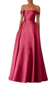 Raspberry Romance Gown by ML Monique Lhuillier