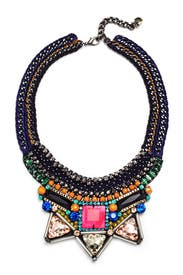 Aden Hot Pink Necklace by Nocturne