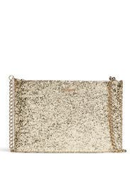 Gold Glitterbug Bag by kate spade new york accessories