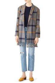 Plaid Elementary Coat by BB Dakota