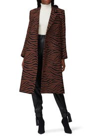 Brushed Didion Coat by Beaufille
