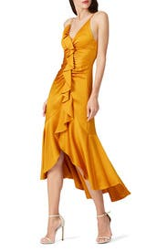 Front Ruffle Dress by Jonathan Simkhai