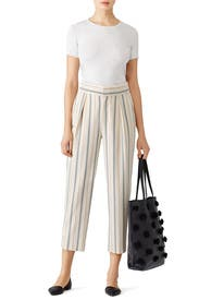 Striped Straight Trouser by See by Chloe