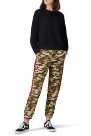 Camo Canvas HR Trousers by Joe's Jeans