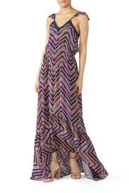 Printed Schena Maxi by Ramy Brook