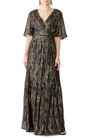 Metallic Nixon Gown by ba&sh
