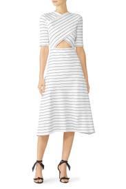 Cross Panel Dress by Rosetta Getty