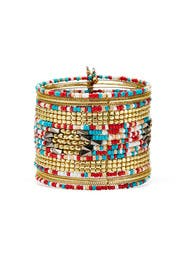 Beaded Sarah Cuff by Area Stars