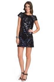 Sienna Sequin Stripe Dress by Milly