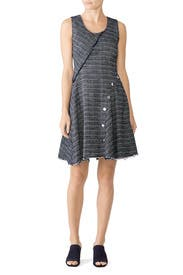 Snapped Fit And Flare Dress by Derek Lam 10 Crosby