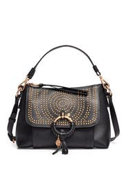 Black Small Joan Satchel by See by Chloe Accessories