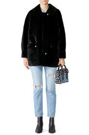 Lindsay Faux Sherpa Coat by Free People