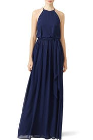 Midnight Wave Gown by Slate & Willow