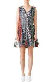 Exotic Print Dress by Carven