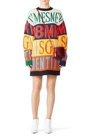 Striped MSGM Sweater Dress by MSGM
