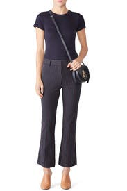 Cropped Flare Trousers by Derek Lam 10 Crosby