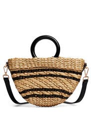 Straw Stripe Bec Bag by Poolside