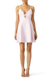 Pink Scallop Dress by Giambattista Valli