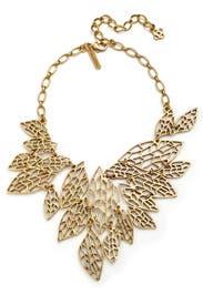 Leaves of Grass Necklace by Oscar de la Renta