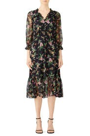 Floral Danna Dress by Shoshanna