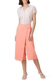 Wrap Front Trousers by Amanda Uprichard