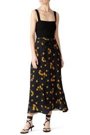 Cherry Print Maxi Skirt by 3.1 Phillip Lim