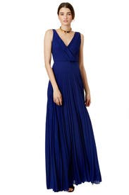 Navy Bella Gown by Cedric Charlier