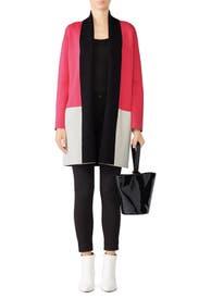 Pink Romare Cardigan by DREYDEN