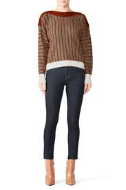 Mixed Stripes Sweater by sita murt