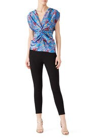 Twist Front Top by Prabal Gurung Collective