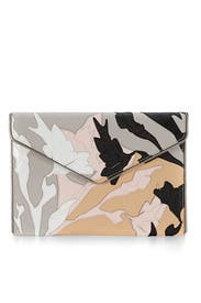 Layered Saffiano Leo Clutch by Rebecca Minkoff Accessories