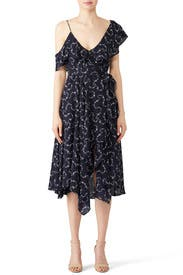 Navy Leilani Dress by LIKELY