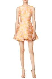 Orange in Bloom Dress by Cynthia Rowley