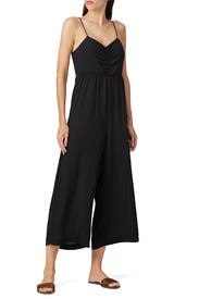 Ruched Wide Leg Jumpsuit by Madewell