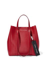 The Cranberry Tag Tote 27 by Marc Jacobs Handbags