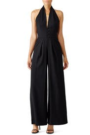 Black MacKenzie Jumpsuit by Martin Grant