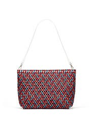 Multi Woven Shoulder Bag by Elizabeth and James Accessories