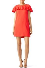 Orange Splash Dress by Trina Turk