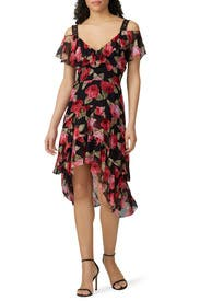 Rosa Off the Shoulder Dress by The Kooples