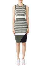 Striped Lucy Knit Dress by John + Jenn