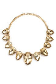 Dusk Gold Teardrop Necklace by Slate & Willow Accessories