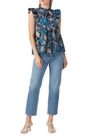 Floral Ida Top by Ulla Johnson