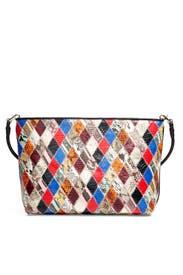 Patchwork Shoulder Bag by Elizabeth and James Accessories