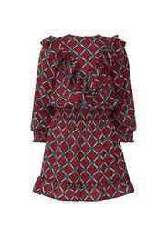 Kids Ruffle Print Dress by Scotch & Soda Kids