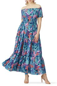 Mystery Floral Maxi Dress by City Chic