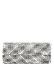 Silver Mesh Clutch by Whiting & Davis